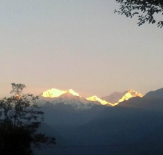 Pelling View from Garden